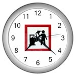 180771786_c50a8db28f Wall Clock (Silver)