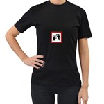 180771786_c50a8db28f Women s Black T-Shirt (Two Sides)