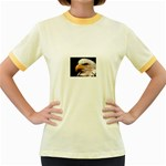 www_pics_am-birds133 Women s Fitted Ringer T-Shirt