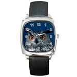 www_pics_am-birds207 Square Metal Watch