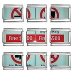 Subway_sign 9mm Italian Charm (9 pack)