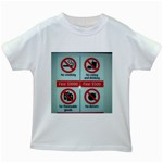 Subway_sign Kids White T-Shirt