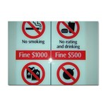 Subway_sign Sticker A4 (10 pack)