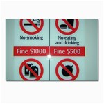 Subway_sign Postcard 4 x 6  (Pkg of 10)