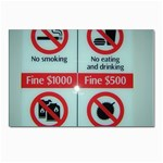 Subway_sign Postcards 5  x 7  (Pkg of 10)