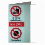 Subway_sign Greeting Cards (Pkg of 8)