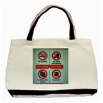 Subway_sign Classic Tote Bag