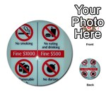 Subway_sign Multi-purpose Cards (Round)