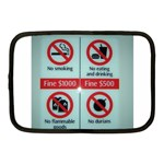 Subway_sign Netbook Case (Medium)