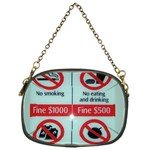 Subway_sign Chain Purse (One Side)