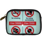 Subway_sign Digital Camera Leather Case