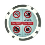 Subway_sign Poker Chip Card Guard (10 pack)