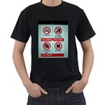 Subway_sign Black T-Shirt