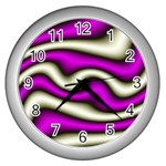 32282-2-317997 Wall Clock (Silver)