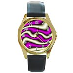 32282-2-317997 Round Gold Metal Watch