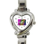 ART-z-100jgp-23302 Heart Italian Charm Watch