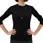 ART-z-100jgp-23302 Women s Long Sleeve Dark T-Shirt