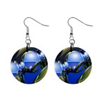bluegold01b-709182 1  Button Earrings
