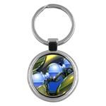 bluegold01b-709182 Key Chain (Round)