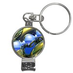 bluegold01b-709182 Nail Clippers Key Chain
