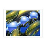 bluegold01b-709182 Sticker (A4)