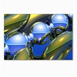 bluegold01b-709182 Postcard 4 x 6  (Pkg of 10)