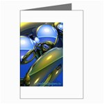 bluegold01b-709182 Greeting Card