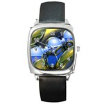 bluegold01b-709182 Square Metal Watch