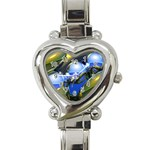 bluegold01b-709182 Heart Italian Charm Watch