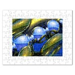 bluegold01b-709182 Jigsaw Puzzle (Rectangular)