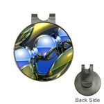 bluegold01b-709182 Golf Ball Marker Hat Clip