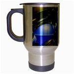 bluegold01b-709182 Travel Mug (Silver Gray)