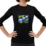 bluegold01b-709182 Women s Long Sleeve Dark T-Shirt