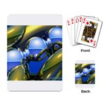 bluegold01b-709182 Playing Cards Single Design