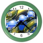 bluegold01b-709182 Color Wall Clock