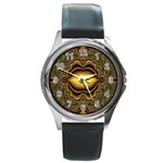 brown_fantasy-958468 Round Metal Watch