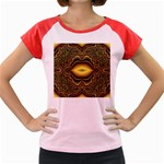 brown_fantasy-958468 Women s Cap Sleeve T-Shirt