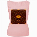 brown_fantasy-958468 Women s Pink Tank Top