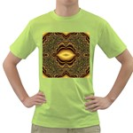 brown_fantasy-958468 Green T-Shirt