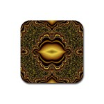brown_fantasy-958468 Rubber Coaster (Square)