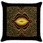 brown_fantasy-958468 Throw Pillow Case (Black)