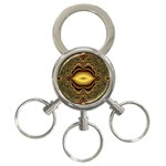 brown_fantasy-958468 3-Ring Key Chain