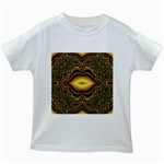 brown_fantasy-958468 Kids White T-Shirt
