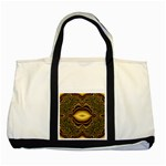 brown_fantasy-958468 Two Tone Tote Bag