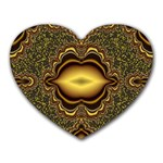 brown_fantasy-958468 Mousepad (Heart)