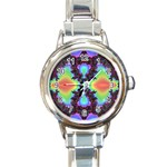 -color%20matrix-685134 Round Italian Charm Watch