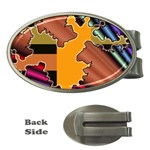 colordesign-391598 Money Clip (Oval)