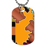 colordesign-391598 Dog Tag (One Side)