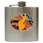 colordesign-391598 Hip Flask (6 oz)