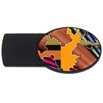 colordesign-391598 USB Flash Drive Oval (2 GB)